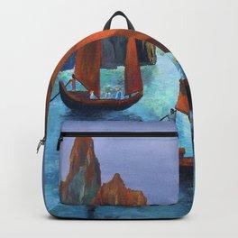 Junks In the Descending Dragon Bay Backpack