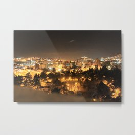 Quito on Fire Metal Print
