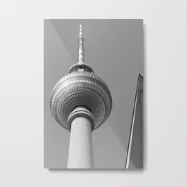 Berliner Fernsehturm TV Tower Metal Print