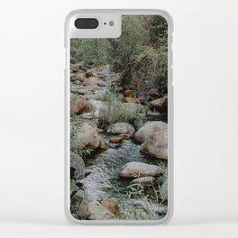 kaweah river Clear iPhone Case