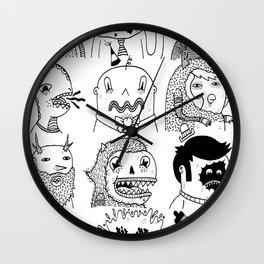 Monster Meet Up Wall Clock
