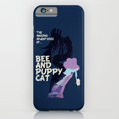 bee and puppycat retro movie poster Slim Case iPhone 6s