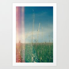 Her Heart Was a Wide Open Landscape Art Print