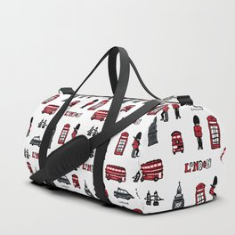 London icons illustration Duffle Bag