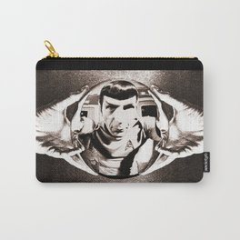 Escher Inspired Spock (Star Trek) Carry-All Pouch