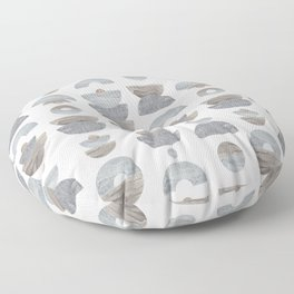 semicircle pattern Floor Pillow