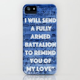 You'll Be Back iPhone Case