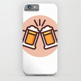 Funny Driveway Drinking for Outside Social Beer Drinker T-Shirt iPhone Case