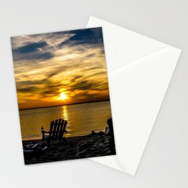 Sunset on the Chesapeake #2 Stationery Cards