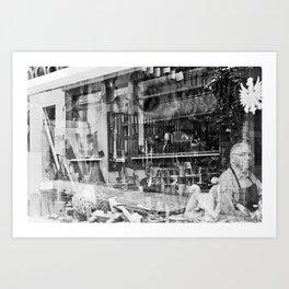 Il liutaio  Art Print