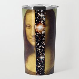Mona Lisa is Eternal Travel Mug