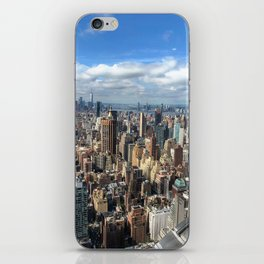 View from the Chrysler Building iPhone Skin