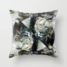 Majestic Beasts Throw Pillow