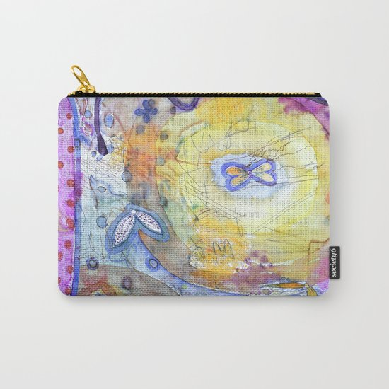 Creation with Wings Carry-All Pouch