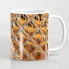 Mirrored Copper Metallic Urban Industrial Texture Coffee Mug