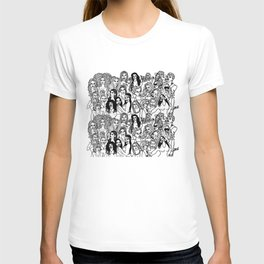 Real Housewives Pt.1 and 2 combined T-shirt