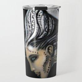 Biomechanical Angel Travel Mug