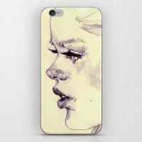lolita iPhone & iPod Skins featuring lolita by adria mercuri