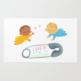 Love bring us together Rug