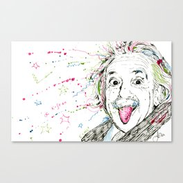 Einstein! Canvas Print