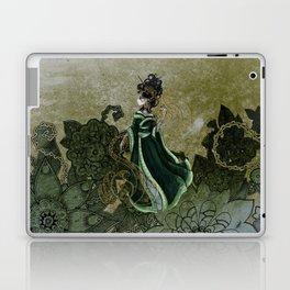 Gold Gilded Leda: A Bollywood Geisha Laptop & iPad Skin