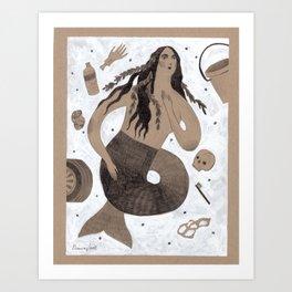 Siren of the Ohio River Art Print