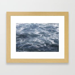 Gentle Waves Framed Art Print