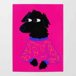 God's Most Beautiful Creature in Pajamas Poster