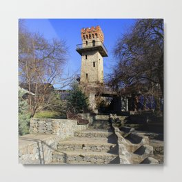 Ancient watchtower. Metal Print