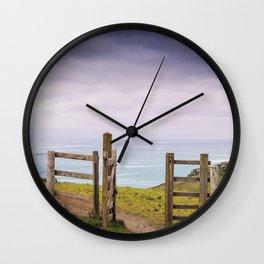 Gateway to the Coast Wall Clock