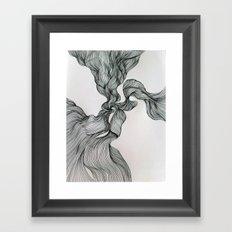 Drawing Weird Stuff Framed Art Print