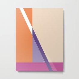 Abstract No. 5 Metal Print
