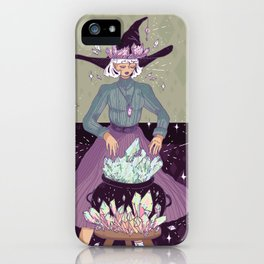 Crystal Witch iPhone Case