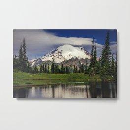 Mt Rainier in Washington Metal Print