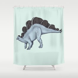 Oreosaurus Shower Curtain