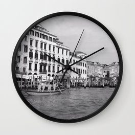 Go with the flow 3 Wall Clock