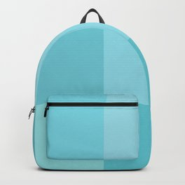 Turquoise grid Backpack