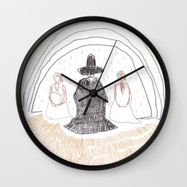 Holy Mountain hommage Wall Clock