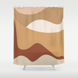 MOUNTAIN DREAMS - beautiful abstract art Shower Curtain