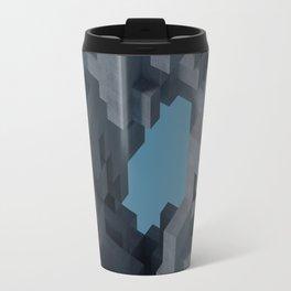 Abstract Concrete II Travel Mug