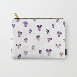 Johnny Jump Up Pattern Carry-All Pouch