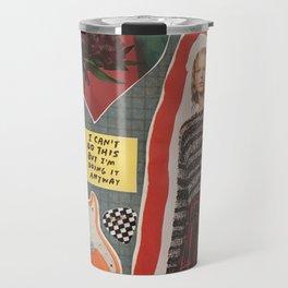 art collage 4 Travel Mug