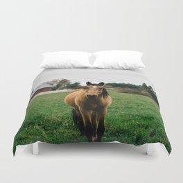 Horse // Oregon Duvet Cover