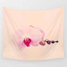 GENTLE ORCHID  II Wall Tapestry