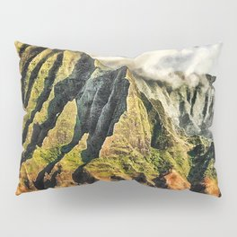 Searust Na Pali, Kauai Pillow Sham