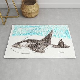 Orca Baby Rug