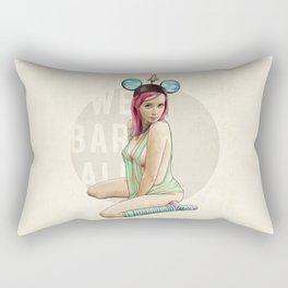 Mrs. Florida Rectangular Pillow