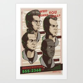 Ghostbusters 30th Anniversary Poster / REGULAR Art Print