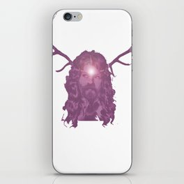 Crystal Antlers iPhone Skin