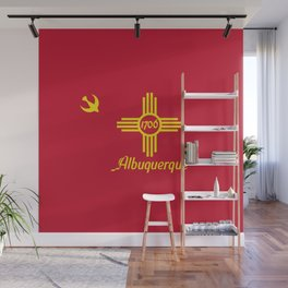 Flag of Albuquerque Wall Mural